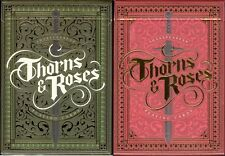 Thorns and Roses Playing Cards - New - by Steve Minty - USPCC