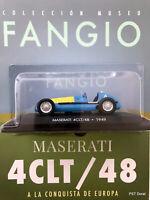 Maserati 4CLT/48 (1949)Diecast 1:43  Fangio Collection Argentina w/magazine