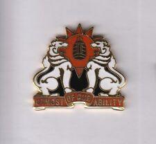 Us Army 35th Signal Brigade Airborne crest Dui badge G-23