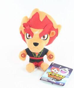 """YO-KAI WATCH plush BLAZION 8"""" soft toy lion game - NEW!"""
