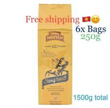 6 packs 1500g (52.9oz) Trung Nguyen Coffee Legendee Gold Sang Tao Creative 8