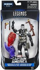 "Marvel Legends Series Mayhem SCOURGE Demolition Man 6"" Figure BAF Red Skull NEW"