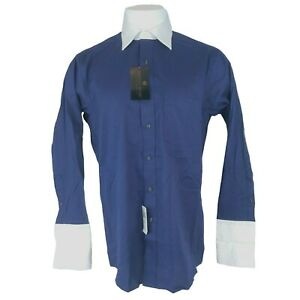 NEW Donald Trump Signature Mens 15.5 Button Up Long Sleeve 32-33 Dress Shirt Top