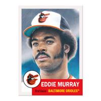 2020 Topps The MLB Living Set Baseball #327 Eddie Murray Baltimore Orioles