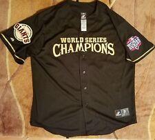ec341fff55e San Francisco Giants Jersey World Series 2012 CHAMPIONS Majestic MLB XL GOLD