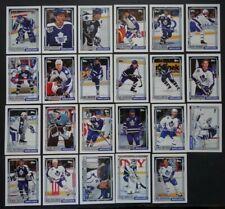 1992-93 Topps Toronto Maple Leafs Team Set of 23 Hockey Cards