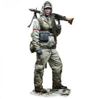 1/16 Gunner Soldier Resin Kits Figure Unpainted Model GK Unassembled