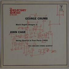 GEORGE CRUMB, JOHN CAGE: Contemporary Composer TURNABOUT Vinyl LP NM