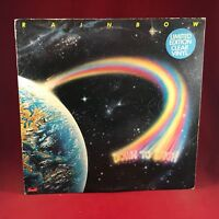 RAINBOW Down To Earth 1979 UK CLEAR Vinyl LP + INNER EXCELLENT CONDITION a