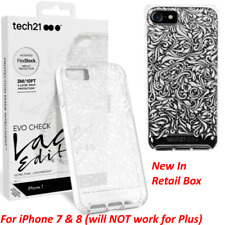 100% AUTHENTIC Tech21 EVO CHECK Lace Edition case cover for iPhone 7 8 NEW