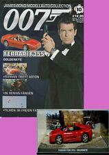 """James Bond 007 Ferrari F355 GTS  + Begleitheft 10, """"Golden Eye"""""""