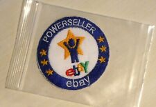 New NIP EBAY POWERSELLER IRON-ON PATCH Vintage circa early 2000s badge decal