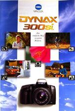Minolta Dynax 300si Prospekt brochure - (0355)