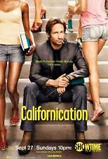 POSTER CALIFORNICATION SERIE TV DAVID DUCHOVNY HANK MOODY SEXY HOT SEX SEASON #1