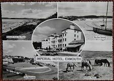 Imperial Hotel Exmouth Devon Unused Postcard Trust House