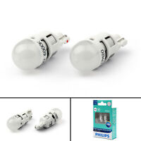 Philips T10 Ultinon Led W5W 6000K Xenon HID White Light Parker White Bulbs A05
