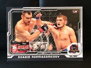 2014 TOPPS UFC CHAMPIONS BLACK PARALLEL 134/188 [ KHABIB NURMAGOMEDOV ]