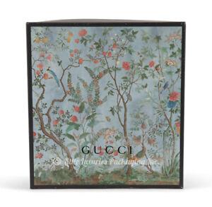 RARE Authentic Gucci Tian Print XL Size Handbag Storage Gift Box 17 x 18 x 5.75
