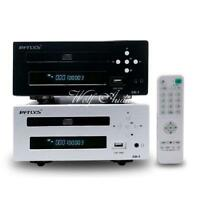 HiFi CD Player Disc Turntable With Headphone XLR Balance Output Support USB Disk