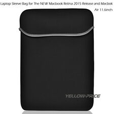 """12 Inch Laptop Notebook Sleeve Case Bag Cover For 12"""" The NEW Macbook Retina"""