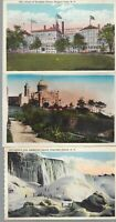 Vintage Scenic Postcards Circa 1800's-1900's Lot of 5 Water Falls *