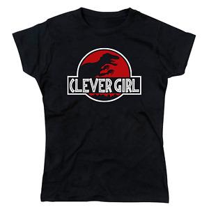Clever Girl Velociraptor Jurassic Park Dinosaur Parody Ladies T-Shirt
