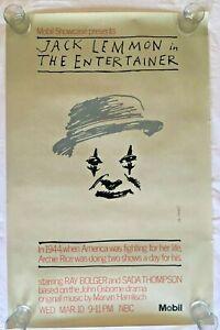 "Original Vintage Ivan Chermayeff  Poster ""The Entertainer"""