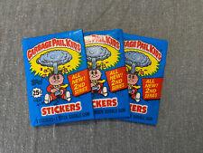 (3) 1985 Topps Garbage Pail Kids GPK Series 2 - OS2 Wax Packs