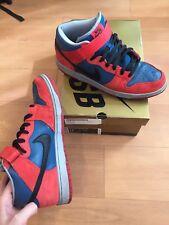 Nike Dunk Mid SB Spider Man Size 13 Red Blue Black VNDS