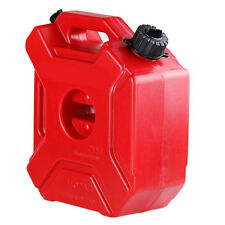 5L Plastic Petrol Tank Atv Jerrycan Mount Motorcycle Gas Can Gasoline Containe