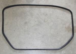 Genuine Mercedes W124 rubber trunk lid seal weatherstrip gasket - USED