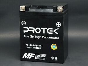 0650 CC Motobatt Battery For Kawasaki KLR 650 1988