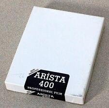 UNOPENED BOX ARISTA 400 PROFESSIONAL FILM – 4X5