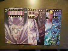 Aliens Colonial Marines Comic #1-5 Full set 1-2-3-4-5 Dark Horse