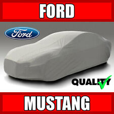 Fits. [FORD MUSTANG GT] CAR COVER ☑️ 100% Waterproof ☑️ All-Weather ✔CUSTOM✔FIT