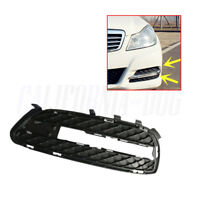 Left Front Bumper Grille DRL Fog Light Cover For Mercedes E-Class W212 2009-2013