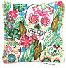 Sugar Skull Pack Hot Cold You Pick A Scent Microwave Heating Pad Reusable