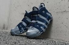 """NIKE AIR MORE UPTEMPO '96 """"GEORGETOWN HOYAS"""" (921948-003) TRAINERS SIZE US 10.5"""