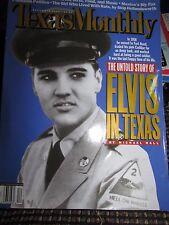 Rare Texas Monthly Magazine Elvis In Texas 1958 Untold Story  December 2000