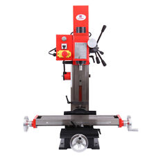 Mini Milling & Drilling Machine w/ Gear Drive Variable Speed 550W Motor MT3