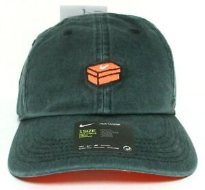 NIKE YOUTH HERITAGE 86 ADJUSTABLE CAP 927230-010 BLACK - ONE SZ - 100% AUTHENTIC