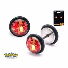 Pokemon Pmeveeersb01 Eevee Stainless Steel Faux Plugs 18g