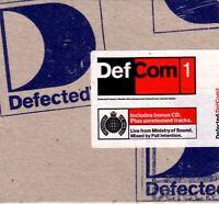 DEFCOM 1 various (2X CD, mixed) house, garage house, defected 1999