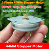 Round 2-phase 4-wire 44MM  Stepper Motor Ultra-Thin Type 3.6 degree stepp w/Gear