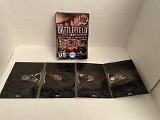 Battlefield 1942: World War II Anthology (PC, 2004) 4 Discs With Box