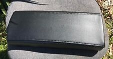 SYNTHETIC LEATHER BLACK Console Lid Armrest Cover Fits Toyota Prius 2004-2009