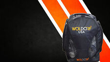 Woldorf USA Jiu Jitsu MMA Boxing school Backpack Gym Convertible duffle vented