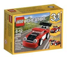 NEW LEGO Creator Red Racer 31055 Building Toy Kit 72 pcs 3-in-1