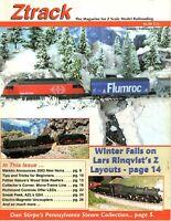 Ztrack Magazine for Z Scale Model Railroading - January/February 2003 - Mint