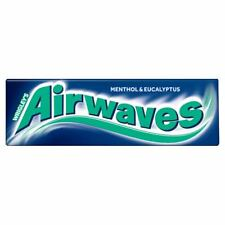 Wrigley's Airwaves Menthol & Eucalyptus Chewing Gum 10 pieces (Pack of 20)